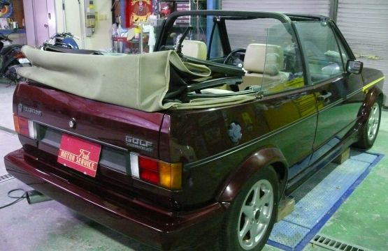 1992 VW GOLF カブリオレ クラシックライン